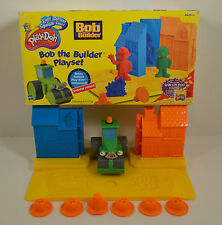 2002 Bob the Builder Hasbro Play-Doh Moulding Set w/ Bob Wendy Pilchard Scoop