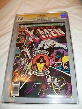 Uncanny X-Men #139 CGC SS 7.5 signed Chris Claremont Signature Kitty Pryde