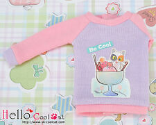 ☆╮Cool Cat╭☆【PR-03】Blythe Pullip Doll Printing Long Sleeves Top # Cup Cats