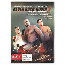 NEVER BACK DOWN 2: The Beatdown : NEW DVD