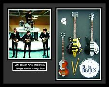 THE BEATLES Shadowbox 50 Years Ed Sullivan 1964 John, Ringo, Paul, George