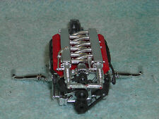 1/18 SCALE PARTS & ACCESSARYS DODGE V-10 CYLINDER MOTOR IN REDSILVER NO BOX.
