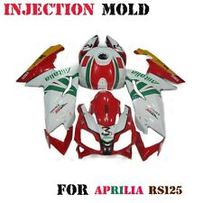 Motorcycle ABS Plastic Fairing Kit for Aprilia RS125 2006-2011 Injection Molding