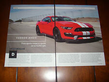 2016 SHELBY GT350 MUSTANG  - ORIGINAL ARTICLE