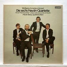 ALBAN BERG QUARTET - MOZART the 6 haydn quartets TELEFUNKEN 3xLPs box EX++
