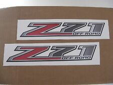 2015 16 CHEVY COLORADO SILVERADO GMC SIERRA Z71 OFF ROAD BEDSIDE DECAL LOT NEW