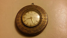 BRILUX BY LUXOR SA  POCKET WATCH SWISS MADE WORLD TIMER C 1940