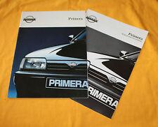 Nissan Primera 1992 Prospekt Brochure Depliant Prospetto Folder Prospect