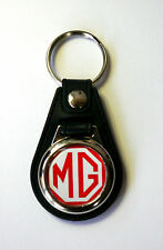 MG Keyring MGA MGB TF TC TF MIDGET Red Logo