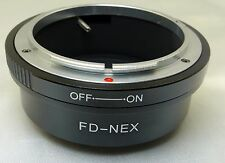 Canon FD to Sony NEX E Lens mount adapter NEW NEX 5R 5N ILCE - FREE shipping USA