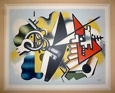 Fernand Leger lithographie signée nature morte aux clefs 1955 Mourlot cubisme