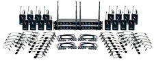 Vocopro Hybrid-Play16 16 CH UHF Hybrid Wireless Headset Lapel Mic System