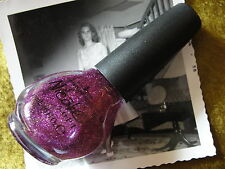 Nicole by OPI My Sleigh's in the Shop Nail Polish Lacquer - purple glitter