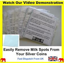 Silver Kangaroo Coin Cleaning Polishing Cloth Anti Tarnish Removal Cleaner