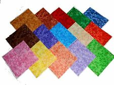75 4 INCH Quilting Fabric Squares Beautiful Razzle Dazzle Tonals/75 !!4""