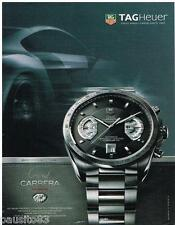 PUBLICITE ADVERTISING 095  2007  TAG HEUER   la montre  GRAND CARRERA