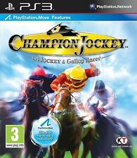 Sony PS3 Playstation 3 Spiel * Champion Jockey: G1 Jockey & Gallop Racer*NEU*NEW