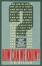 How Can We Know?