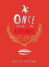 Once Upon an Alphabet-new hardcover book with DJ