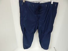 Adams Adult Dazzle Slotted Football Pants Navy Sample DGP-881-Large(36-38)