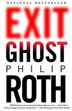 9780307387295 Philip Roth Exit Ghost Paperback National Bestseller Fiction