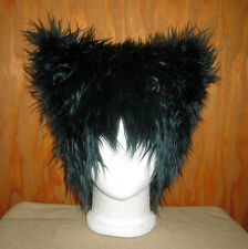 GREEN BAY PACKERS SUPER BOWL GREEN CAT FUR EARS HAT GREENBAY SPORTS TEAM WIG