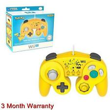 Hori Battle Pad Controller Turbo for Super Smash Bros Wii U/ Wii Console Pikachu