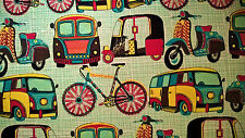 Indian Handmade Paper ~ Transport ~ Large Sheet 76 x 53cm ~ Cards, Wrapping, Art