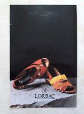D867 - Advertising Pubblicità -1991- LORBAC COLLEZIONE PRIMAVERA ESTATE