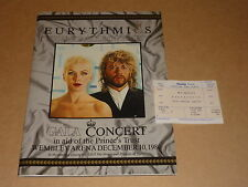 """Eurythmics """"The Miracle Of Trust"""" 1986 Prince's Trust Gala Concert Programme"""
