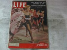 Life Magazine September 19th 1955 Dolls From Guys & Dolls Publisher Time   mg560