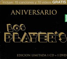 Los Players Aniversario Edicion Limitada 1CD+1DVD 15 Canciones +10 Videos Nuevo