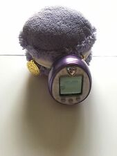 New! Tamagotchi P's iD L 4U M!x Purple Plush Macaron Pouch/Carrying Case