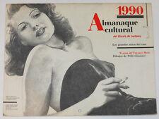 1990 ALMANAQUE CULTURAL Grandes Mitos del Cine por Terenci Moix Rita Hayworth