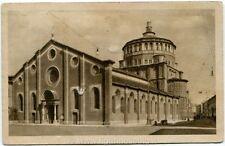 1924 Milano Veduta Chiesa delle Grazie, Ferrovia Novellara - FP B/N VG