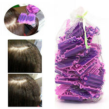 45 Pcs Hairdressing Styling Wave Perm Rod Corn Hair Clip Curler Maker DIY Tool