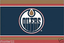 High Quality 3' x 5' Edmonton Oilers Licensed NHL Outdoor Flag - Free Shipping