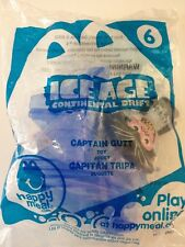 MCDONALD'S 2012 ICE AGE CAPTAIN GUTT HAPPY MEAL TOY #6