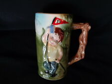 VINTAGE GOLF PLAYER 19TH HOLE MUSICAL STEIN  GREAT GIFT 4 GOLFER