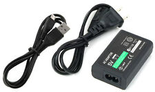 Wall Charger AC Adapter Power Supply Cord USB Cable for Sony PS Vita 2000 Slim
