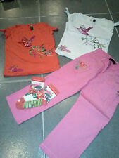 ensemble fille  ~~  3 ans ***CATIMINI*** Paradis Tropical Tshirt, pantalon, cho7