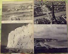1962 Pas de calais,Mers les Bains,Paris tour Eiffel,Dieppe