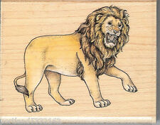Rubber Stampede Rubber Stamp A827E King of the Jungle, Lion  SSBD1-7