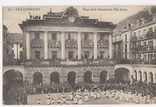 Spain, San Sebastian, Plaza de la Constitucion, Une Fiesta Postcard, B082