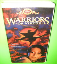 Warriors of Virtue VHS Mario Yedidia Angus MacFadyen Marley Shelton 1997