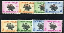 BAHAWALPUR STATE 1949- 8 Different Stamps-Postage & Service Sets-U.P.U