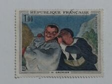 2 x FRENCH STAMPS - BOTH 1,00