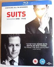 SUITS Complete Seasons 1-5 Sealed/Damaged BLU-RAY BOX SET 1 2 3 4 5 TV series