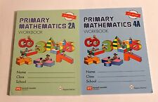 Singapore Primary Math Workbook/Textbook (2 books) 1A1B 2A2B 3A3B 4A4B 5A5B 6A6B