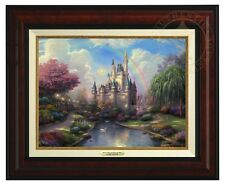 Thomas Kinkade - Disney World - Canvas Classic (Burl Frame)